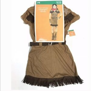 Cowgirl Costume Medium 6-8 Girls Dress Up